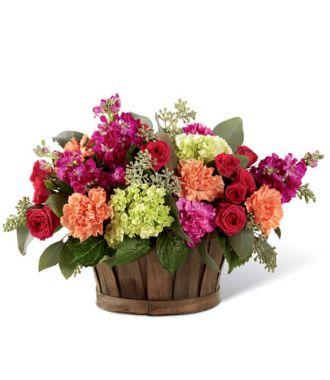 Thanksgiving Flower Baskets