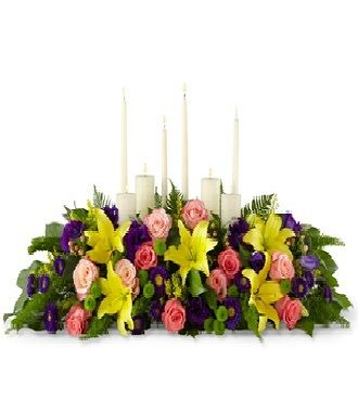 Funeral Table Floral Arrangements