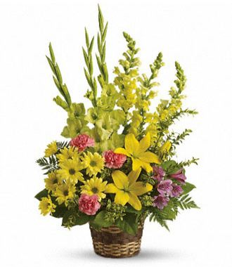 Arrangement Of Flowers For Funeral