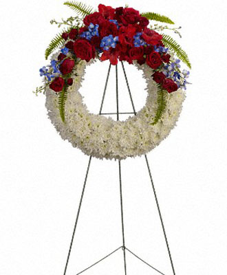 Funeral Wreath Flowers
